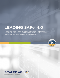Leading SAFe 4.0 Scaled Agile Certification Class Book